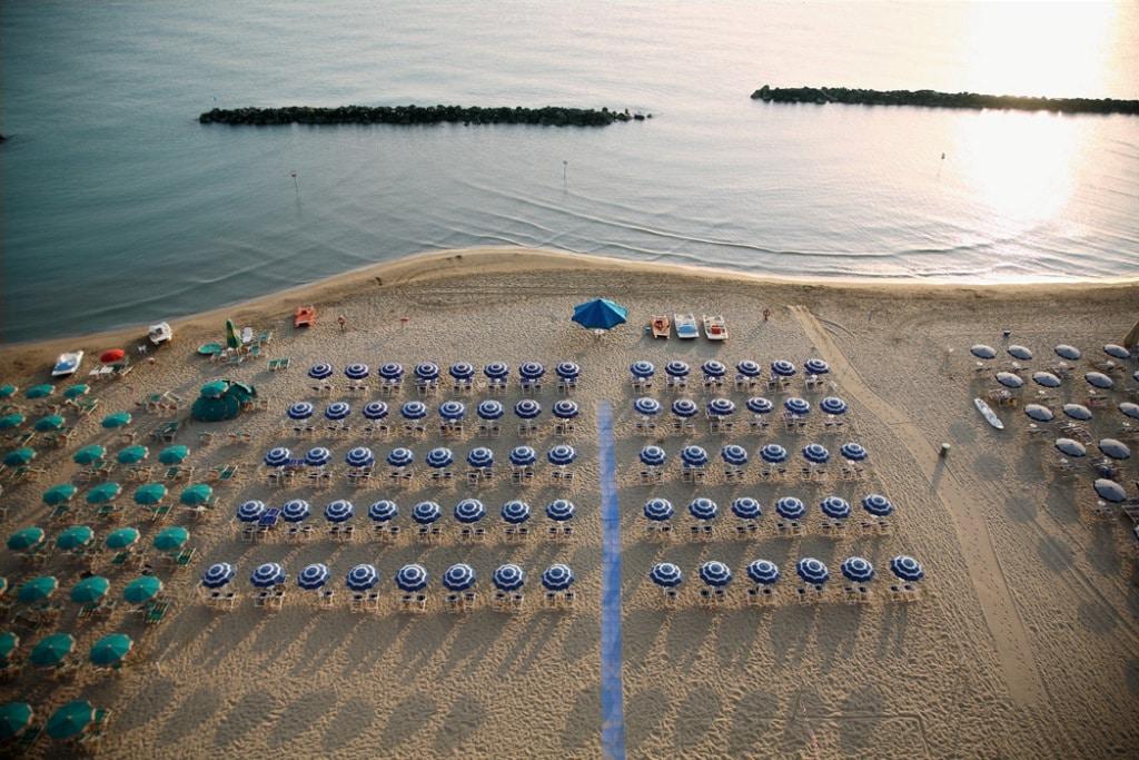 Panorama Spiaggia Fronte Mare Hotel Promenade 4 Stelle Montesilvano Abruzzo