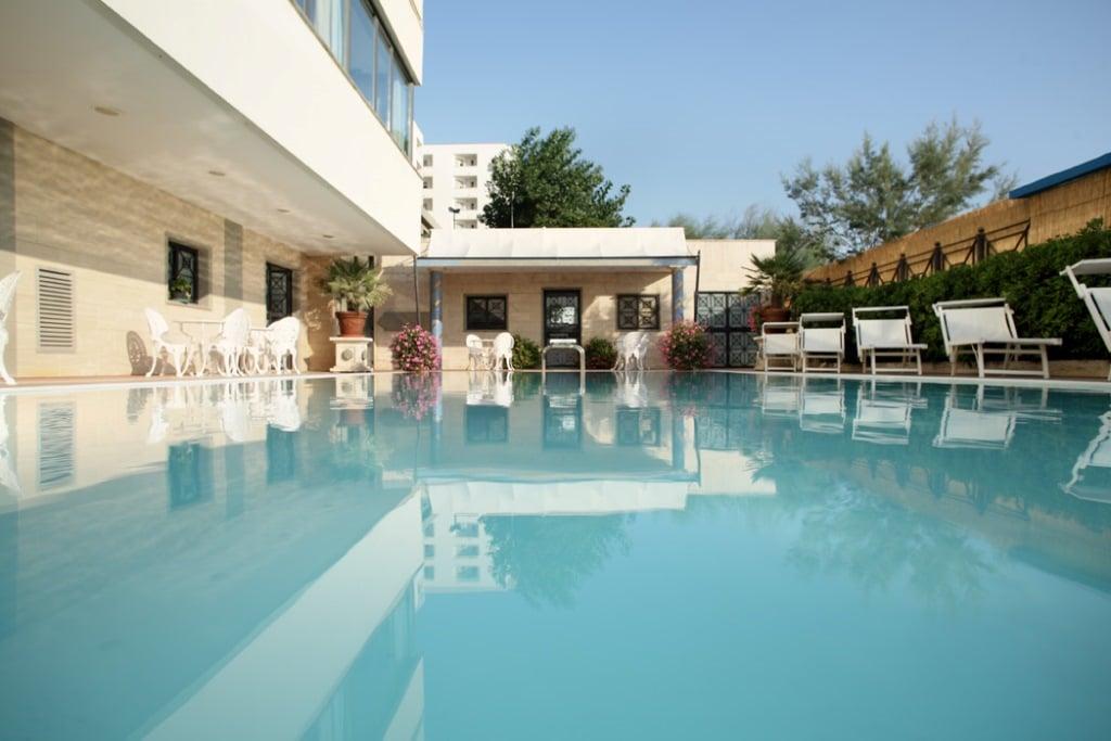 Piscina Ingresso Hotel Promenade 4 Stelle Montesilvano Abruzzo